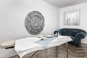 Massage Raum der erotischen Massage Wien